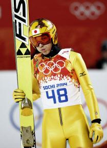 葛西選手、銀メダル!ソチオリンピックで魅せた!